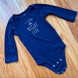 5/$20 Long sleeve onesie 18 months